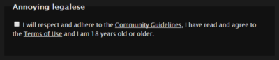 FetLife Terms of Use
