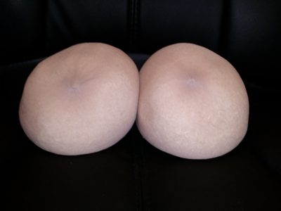 Jennifer's original breasts