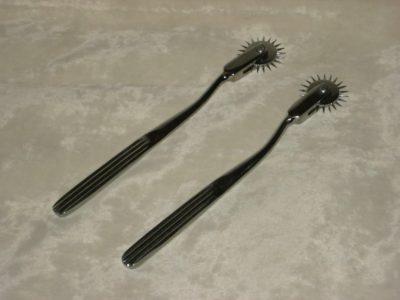 Two Wartenberg pinwheels